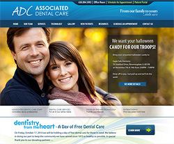 Associated Dental Website Design