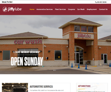 Best Jiffy Lube In Aurora Website Design