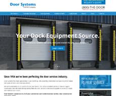 Door Systems Website Design