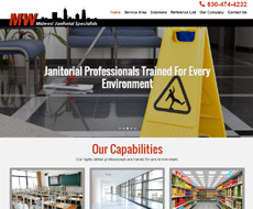 Midwest Janitorial Website Design