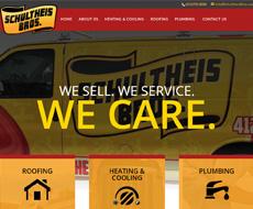 Schultheis Bros Website Design