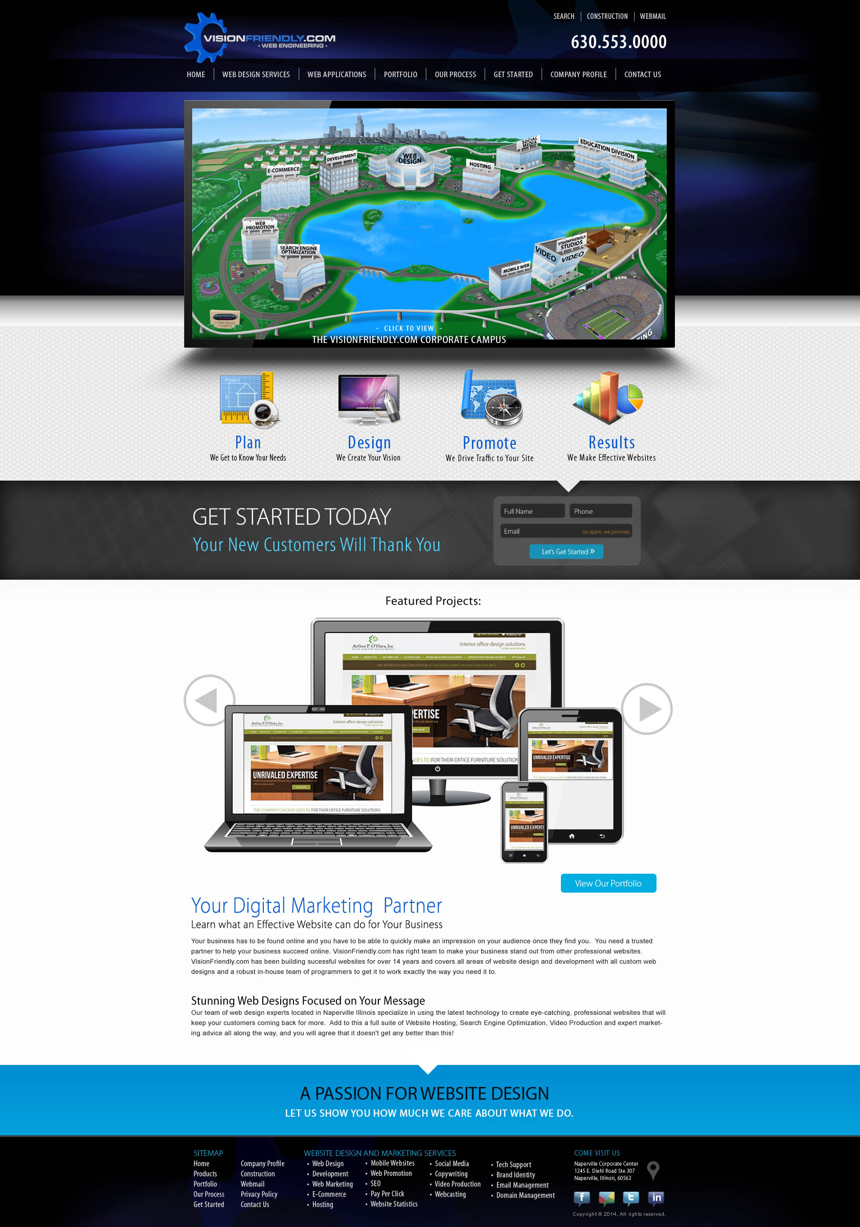home web design.  Chicago Website Design Company In Naperville Digital Marketing