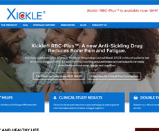 Xickle Website Design