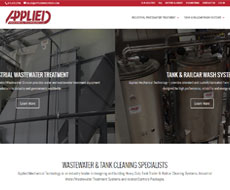Applied Mech Tech Website Design