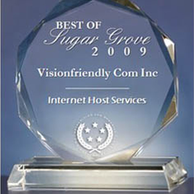 Best in Internet Hosting Services Award