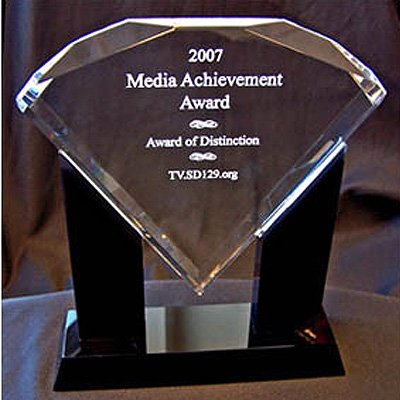 Media Achievement Award of Distinction