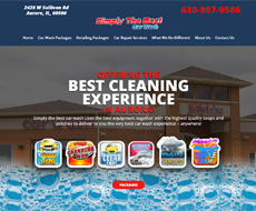 Simply The Best Car Wash Website Design