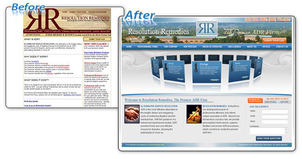 Resolution Remedies - Before and After