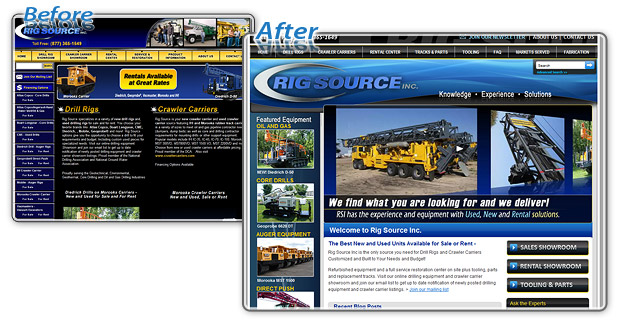 Rig Source Inc - Before and After