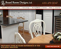 Board Room Design Website Design