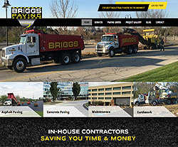 Redstart Construction Website Design