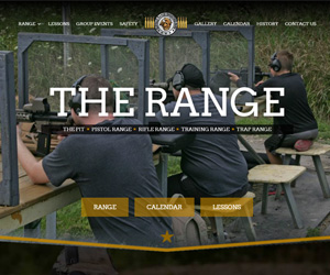 Buffalo Range Shooting Park Website Design