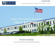 Burgess Commercial Website Design