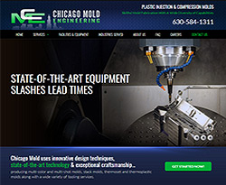 Chicago Mold Engineering Website Design
