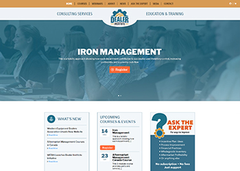 Dealer Institute Website Design