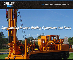 Drills n' More Website Design