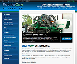 Envirocon Systems Website Design
