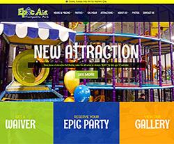 Epic Air Park Website Design