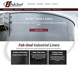 Fab Seal Website Design