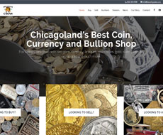 Fox Valley Coins Website Design