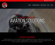 Gauntlet Aerospace Website Design