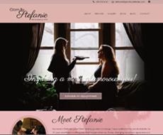 Glam By Stefanie Website Design