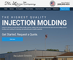 Lakoneco Company Website Design