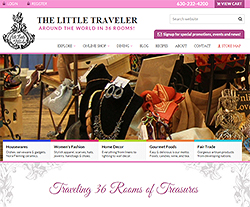 Little Traveler Website Design