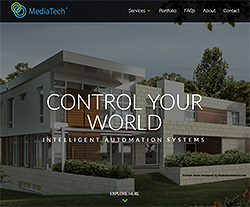 Media Tech Living Website Design