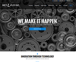 Met L Flo Website Design