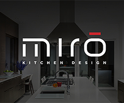 Miro Kitchens Website Design