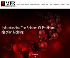 MPR Plastics Website Design
