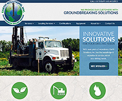 My Earth Solutions Website Design