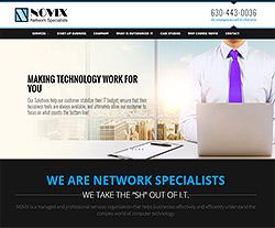 Novix Inc Website Design