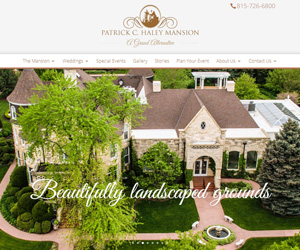 Patrick Haley Mansion Website Design