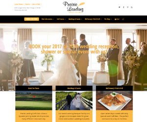 Prairie Landing Website Design