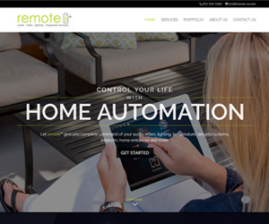 Remote AV Website Design