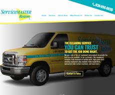 Service Master of Aurora Website Design