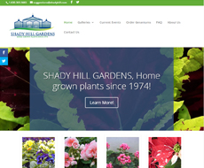 Shady Hill Website Design
