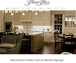 Timber Trails DC Website Design