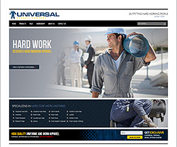 Universal Overall Website Design