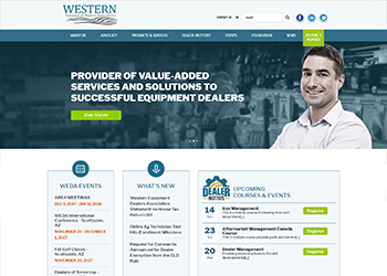 Western EDA Website Design