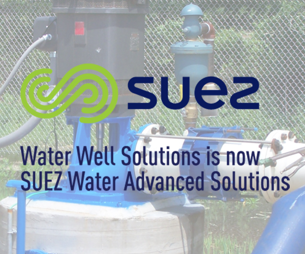 SUEZ water well solutions Website Design