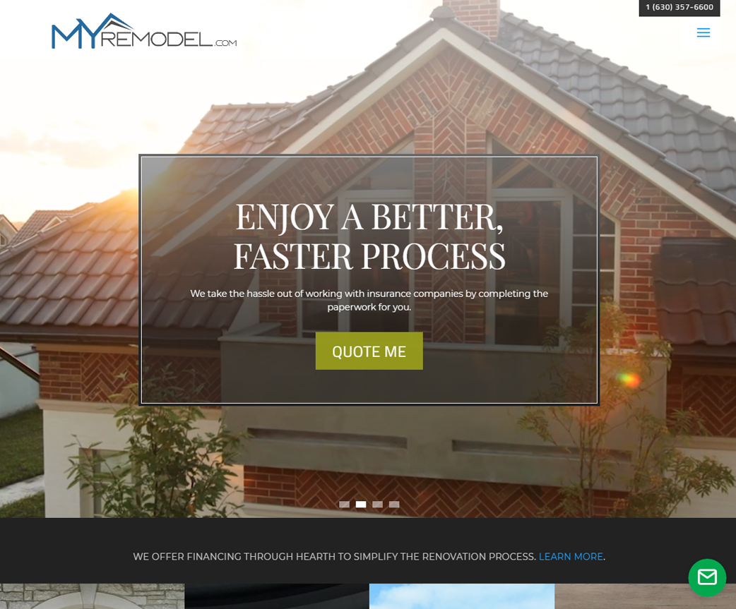 MyRemodel Website Design