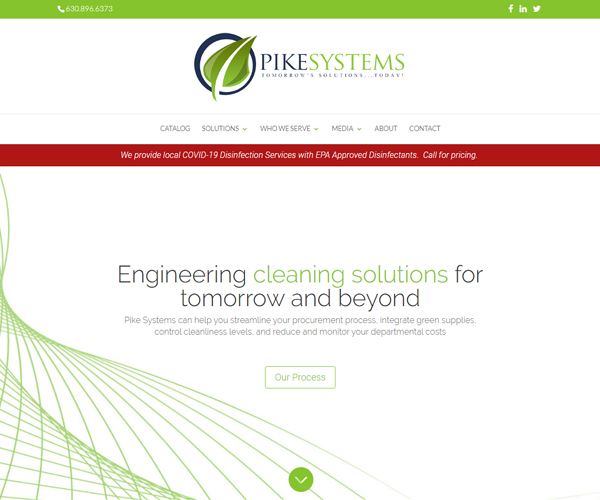Pike Systems Website Design