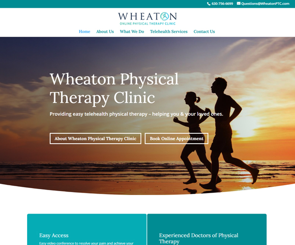 Wheaton PTC Website Design