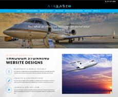 Airbase1 Website Design