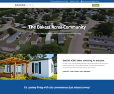Bakers Acres LLC Website Design