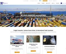 BDG International Website Design