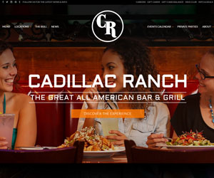 Cadillac Ranch Group Website Design